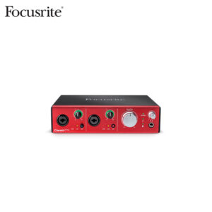 Focusrite Clarett 2Pre 10X4 Thunderbolt Interface Audio Interface IMG