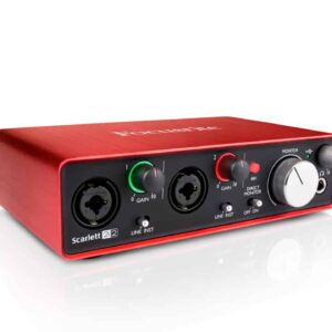 Focusrite Scarlett 2i2 Audio Interface (2nd Gen) Audio Interface IMG