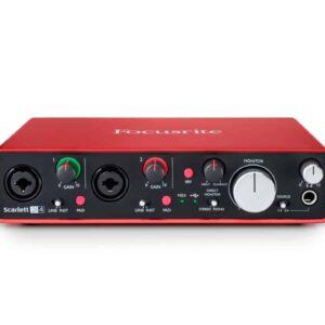 Focusrite Scarlett 2i4 Audio Interface (2nd Gen) Audio Interface IMG