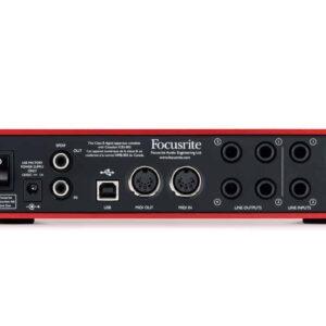 Focusrite Scarlett 6i6 Audio Interface (2nd Gen) Audio Interface IMG