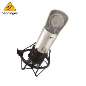 Behringer B-2 PRO Gold-Sputtered Large Dual-Diaphragm Studio Condenser Microphone Condenser Microphone IMG