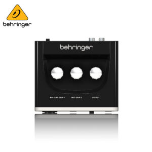 Behringer U-PHORIA UM2 Audiophile 2×2 USB Audio Interface with XENYX Mic Preamplifier Audio Interface IMG