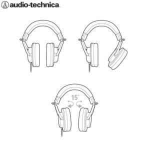 Audio Technica ATH-M20X Professional Monitor Headphone Headphones IMG