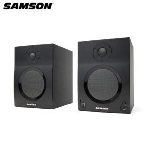 Samson MediaOne BT5 Active Studio Monitors with Bluetooth (Pair) Studio Monitor IMG