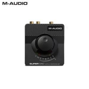 M-Audio Super DAC II USB Audiophile-Grade Converter & Headphone Amp Audio Interface IMG
