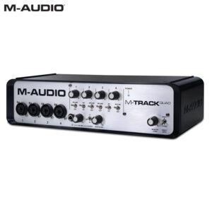 M-Audio M-Track Quad MIDI USB Audio Interface Audio Interface IMG