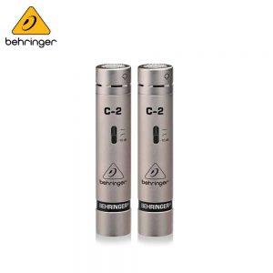 Behringer C-2 2 Matched Studio Condenser Microphones Condenser Microphone IMG